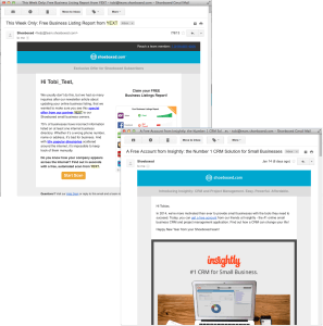 Email Advertisements with Yext and Insightly